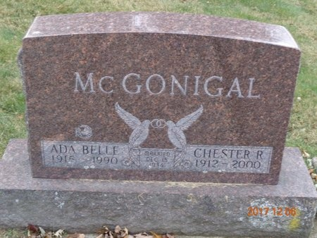 MCGONIGAL, CHESTER R. - Clinton County, Michigan | CHESTER R. MCGONIGAL - Michigan Gravestone Photos