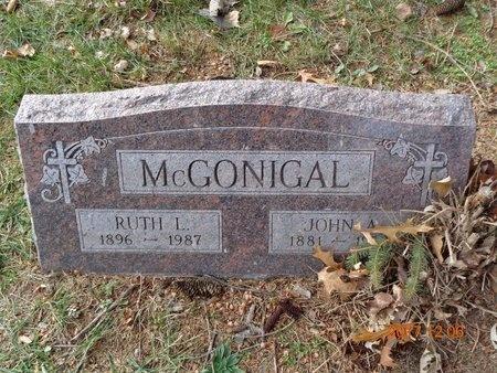 MCGONIGAL, RUTH L. - Clinton County, Michigan | RUTH L. MCGONIGAL - Michigan Gravestone Photos