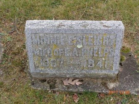 SLEIGHT PHELPS, MINNIE E. - Clinton County, Michigan | MINNIE E. SLEIGHT PHELPS - Michigan Gravestone Photos