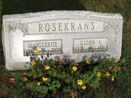 ROSEKRANS, MARGUERITE - Clinton County, Michigan | MARGUERITE ROSEKRANS - Michigan Gravestone Photos