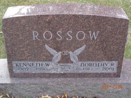 ROSSOW, DOROTHY R. - Clinton County, Michigan | DOROTHY R. ROSSOW - Michigan Gravestone Photos