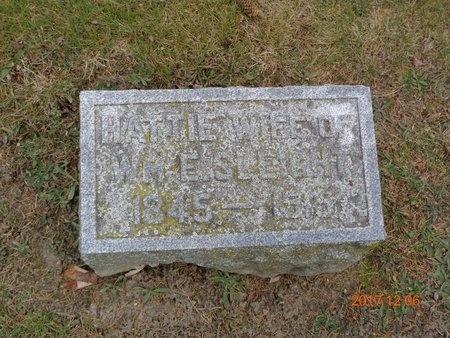SLEIGHT, HATTIE - Clinton County, Michigan | HATTIE SLEIGHT - Michigan Gravestone Photos