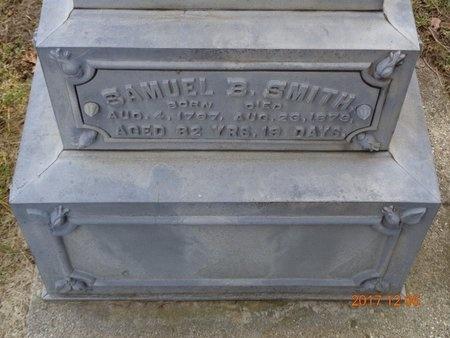 SMITH, SAMUEL B. - Clinton County, Michigan | SAMUEL B. SMITH - Michigan Gravestone Photos
