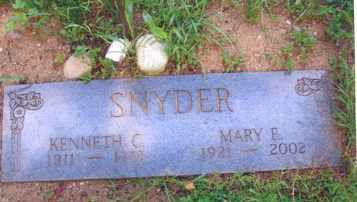 SNYDER, MARY E. - Clinton County, Michigan | MARY E. SNYDER - Michigan Gravestone Photos
