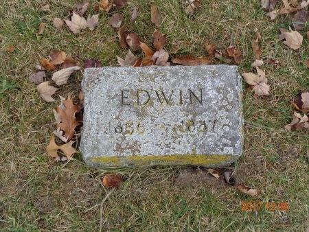 TOWNE, EDWIN - Clinton County, Michigan | EDWIN TOWNE - Michigan Gravestone Photos