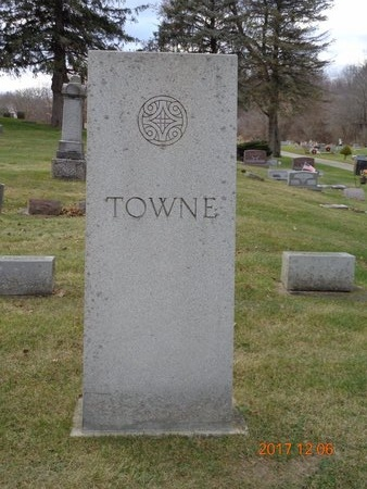 TOWNE, FAMILY - Clinton County, Michigan | FAMILY TOWNE - Michigan Gravestone Photos