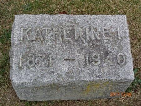 VANSGOY, KATHERINE I. - Clinton County, Michigan | KATHERINE I. VANSGOY - Michigan Gravestone Photos