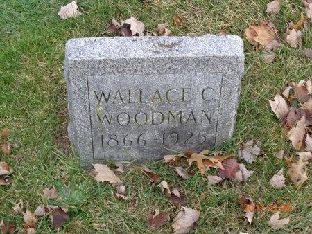 WOODMAN, WALLACE C. - Clinton County, Michigan | WALLACE C. WOODMAN - Michigan Gravestone Photos