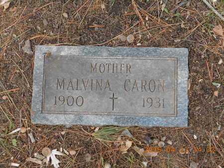 CARON, MALVINA - Delta County, Michigan | MALVINA CARON - Michigan Gravestone Photos