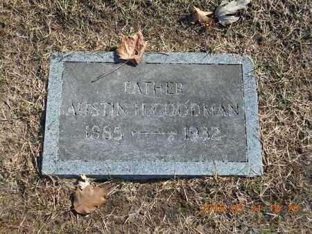 GOODMAN, AUSTIN - Delta County, Michigan | AUSTIN GOODMAN - Michigan Gravestone Photos