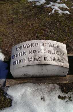 STACK, EDWARD - Delta County, Michigan | EDWARD STACK - Michigan Gravestone Photos