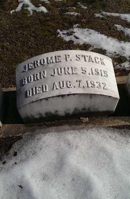 STACK, JEROME P. - Delta County, Michigan | JEROME P. STACK - Michigan Gravestone Photos