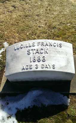 STACK, LUCILLE FRANCIS - Delta County, Michigan | LUCILLE FRANCIS STACK - Michigan Gravestone Photos