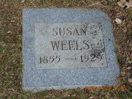 WELLS, SUSAN - Delta County, Michigan | SUSAN WELLS - Michigan Gravestone Photos