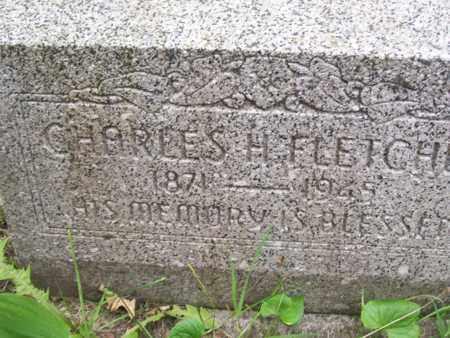 FLETCHER, CHARLES HARRISON - Emmet County, Michigan | CHARLES HARRISON FLETCHER - Michigan Gravestone Photos