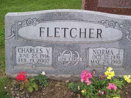FLETCHER, CHARLES V. - Emmet County, Michigan   CHARLES V. FLETCHER - Michigan Gravestone Photos