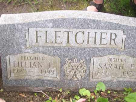 FLETCHER, SARAH ELIZABETH - Emmet County, Michigan   SARAH ELIZABETH FLETCHER - Michigan Gravestone Photos