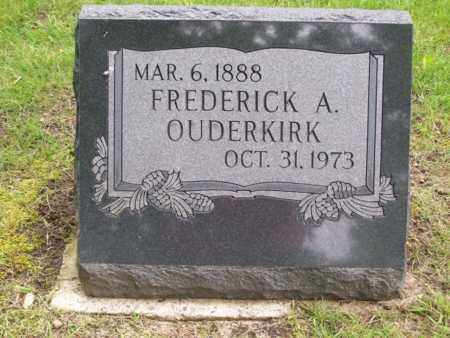 OUDERKIRK, FREDERICK A - Emmet County, Michigan | FREDERICK A OUDERKIRK - Michigan Gravestone Photos