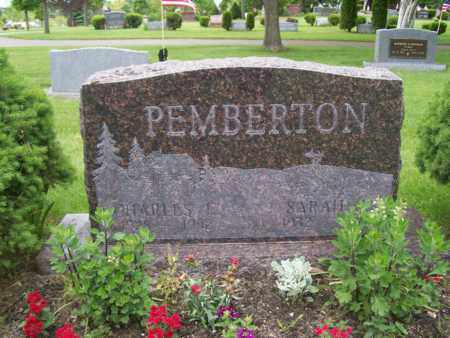PEMBERTON, SARAH - Emmet County, Michigan | SARAH PEMBERTON - Michigan Gravestone Photos