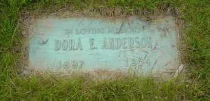 LOAR ANDERSON, DORA E. - Genesee County, Michigan | DORA E. LOAR ANDERSON - Michigan Gravestone Photos