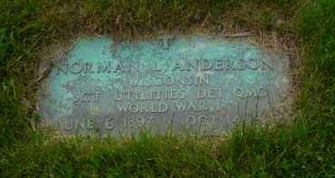 ANDERSON, NORMAN L. - Genesee County, Michigan   NORMAN L. ANDERSON - Michigan Gravestone Photos