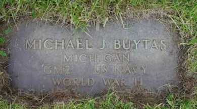BUYTAS, MICHAEL J. - Genesee County, Michigan | MICHAEL J. BUYTAS - Michigan Gravestone Photos