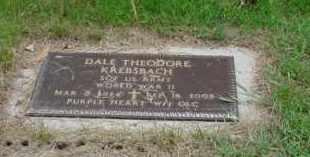 KREBSBAC, DALE - Genesee County, Michigan   DALE KREBSBAC - Michigan Gravestone Photos