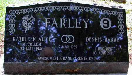 FARLEY, KATHLEEN ALICE - Genesee County, Michigan | KATHLEEN ALICE FARLEY - Michigan Gravestone Photos