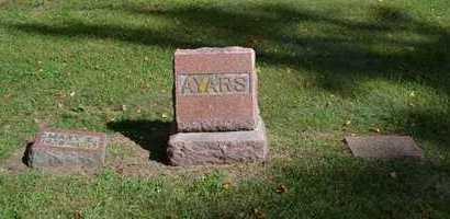 AYARS, LOT - Hillsdale County, Michigan   LOT AYARS - Michigan Gravestone Photos