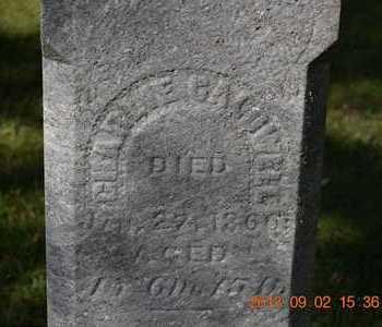 CALDWELL, CHARLIE - Hillsdale County, Michigan | CHARLIE CALDWELL - Michigan Gravestone Photos