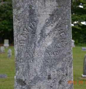 COWEN, DAVID - Hillsdale County, Michigan | DAVID COWEN - Michigan Gravestone Photos