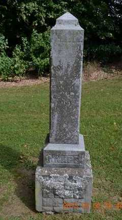 KNAPP, MARY EMILY - Hillsdale County, Michigan | MARY EMILY KNAPP - Michigan Gravestone Photos