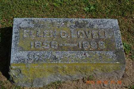 LOVELL, ELLEN C. - Hillsdale County, Michigan | ELLEN C. LOVELL - Michigan Gravestone Photos