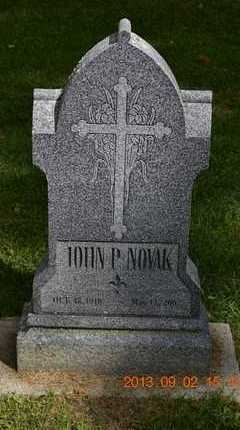 NOVAK, JOHN P. - Hillsdale County, Michigan | JOHN P. NOVAK - Michigan Gravestone Photos