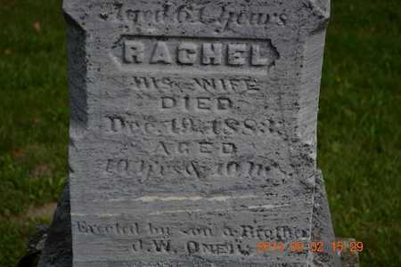 O'NEIL, RACHEL - Hillsdale County, Michigan | RACHEL O'NEIL - Michigan Gravestone Photos