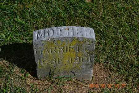 PARKER, HARRIET E. - Hillsdale County, Michigan | HARRIET E. PARKER - Michigan Gravestone Photos