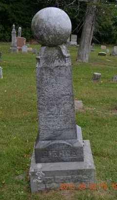 PIERCE, MELVIN - Hillsdale County, Michigan | MELVIN PIERCE - Michigan Gravestone Photos
