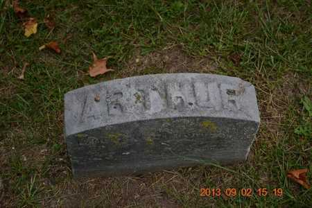 PIERCE, ARTHUR - Hillsdale County, Michigan   ARTHUR PIERCE - Michigan Gravestone Photos