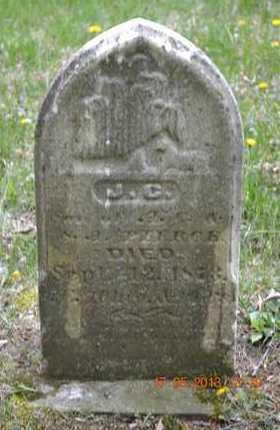 PIERCE, J.C. - Hillsdale County, Michigan | J.C. PIERCE - Michigan Gravestone Photos