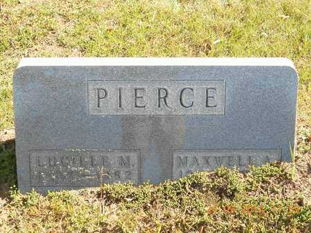PIERCE, MAXWELL A. - Hillsdale County, Michigan | MAXWELL A. PIERCE - Michigan Gravestone Photos