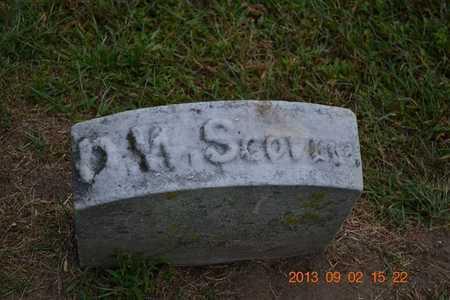 SCOVELL, DAVID W. - Hillsdale County, Michigan | DAVID W. SCOVELL - Michigan Gravestone Photos
