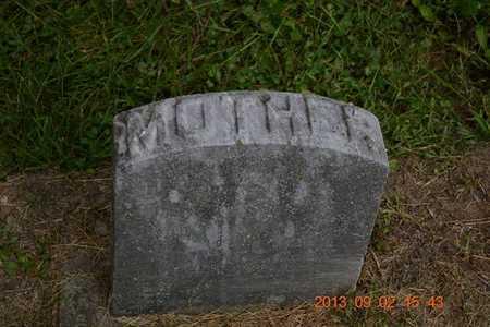 SHEDER, ELLA E. - Hillsdale County, Michigan   ELLA E. SHEDER - Michigan Gravestone Photos