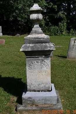 TABER, HENRY W. - Hillsdale County, Michigan | HENRY W. TABER - Michigan Gravestone Photos