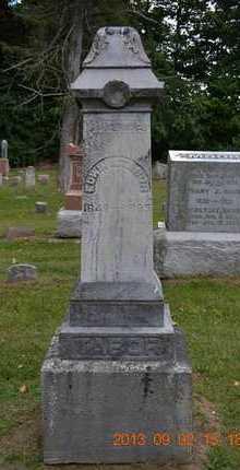 TABOR, EDWIN A. - Hillsdale County, Michigan | EDWIN A. TABOR - Michigan Gravestone Photos