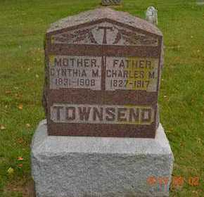 TOWNSEND, CHARLES M. - Hillsdale County, Michigan | CHARLES M. TOWNSEND - Michigan Gravestone Photos