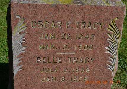 TRACY, OSCAR E. - Hillsdale County, Michigan | OSCAR E. TRACY - Michigan Gravestone Photos