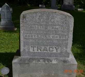 COOK TRACY, MARY L. - Hillsdale County, Michigan | MARY L. COOK TRACY - Michigan Gravestone Photos