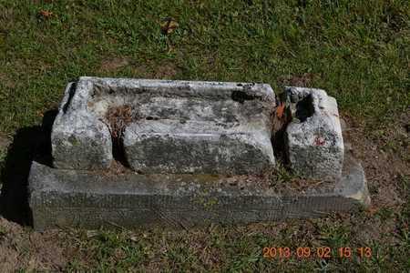 UNKNOWN, UNKNOWN - Hillsdale County, Michigan | UNKNOWN UNKNOWN - Michigan Gravestone Photos
