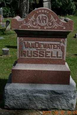 RUSSELL, FAMILY - Hillsdale County, Michigan | FAMILY RUSSELL - Michigan Gravestone Photos