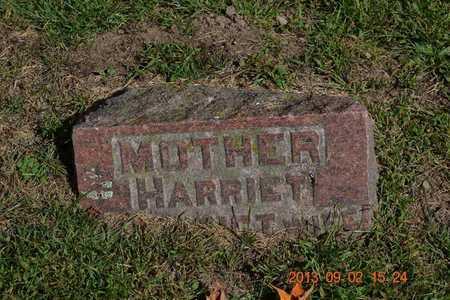 BENEDICT VANDEWATER, HARRIET - Hillsdale County, Michigan | HARRIET BENEDICT VANDEWATER - Michigan Gravestone Photos